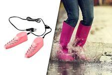 Secador de zapatos Eléctrico Botas Secadora Gorra Guante Calentador lila