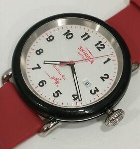 Shinola detrola the radio flyer watch 43mm mens watch