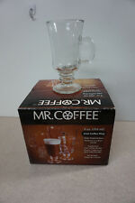Mr Coffee Irish Coffee Mugs 9 oz. ONLY 3 INSIDE THE PACKAGE