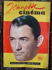 Magazin Jeunesse Cinema Nr. 35 - Oct.1960 - Cv. Gregory Peck