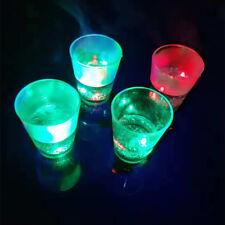 FJ- Colorful Flashing LED Light Wine Beer Whisky Glass Cup Mug Party Decor Graci
