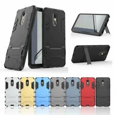 10pcs/lot Hybrid Armor Dual Layer TPU+PC Cover Slim Tough Case for LG Stylo 4