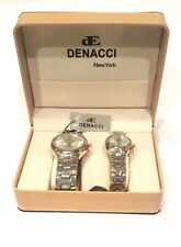 Denacci NY His & Hers casual Watch Set NY Watches Quartz Battery Water Resistant