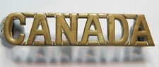 WW2 Canadian Expeditionary Force Shoulder Title
