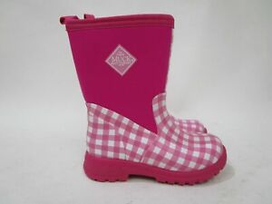 NEW MUCK Boot Company Breezy MID Pink Insulated Rain Boot Kids Sz 13 RRP$150