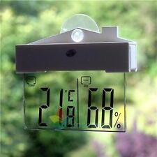 Digital Window Thermometer Hydrometer Indoor Outdoor Weather Station A