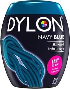 DYLON Washing Machine Fabric Dye Pod for Clothes & Soft Navy Blue