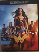WONDER WOMAN (4K UHD + Blu ray) No digital  (K)