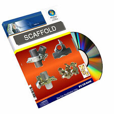 Scaffold Scaffolding Health Safety Construction Powerpoint Training Course on CD
