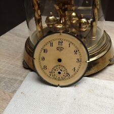 Antique Germany Lenzkirch carriage alarm clock original dial