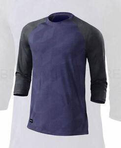 Specialized Men's Utility 3/4 Sleeve Cycling Jersey Indigo - Medium