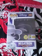 Funko Pop Disney SDCC Exclusive Negatron Darkwing Duck #300 Glows in the dark