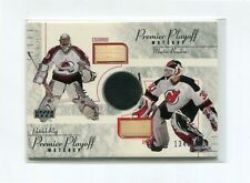 2001-02 UD Honor Roll Playoff Matchups #HSRB Patrick Roy/Martin Brodeur 134/200