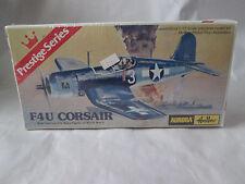 1977 Aurora Model Kit FU4 Corsair Navel Fighter Airplane 1/72 Scl #6601 France