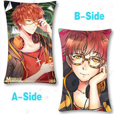 Game Mystic Messenger 707 Luciel Choi Dakimakura Pillow Case Sofa Cushion Cover