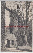 (105947) AK Mettlach, Burg Montclair, Burghof 1916