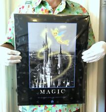 """Magic Kingdom """"Magic"""" Art Print - Tinkerbell & Cinderella's Castle"""