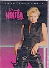 LA FEMME NIKITA - The Complete Fifth Season (DVD 2006 3-Disc Set) (Z1)