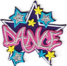 """DANCE"" - IRON ON PATCH -  DANCING - HIP HOP - BALLROOM - JAZZ - DANCERS"