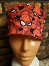 Spiderman Handmade Surgical Scrub Caps