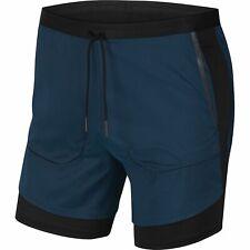 Nike Tech Pack Hybrid Mens Running Shorts Green Size M Sportswear Training 2 In