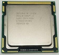 Intel Core i3-530M CPU 4MCache/2.93GHz/2.5GT/s SLBX7 Socket FCLGA1156