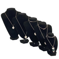 Mannequin Bust Jewelry Necklace Pendant Earring Display Stand Holder Organizer