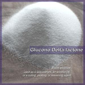ORGANIC Glucono Delta Lactone GDL FOOD GRADE for Premium Silken Tofu & Desserts