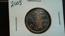 1945-2005 VICTORY NICKEL CANADA Five Cents in 2 x 2 holder