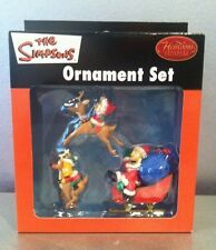 THE SIMPSONS ORNAMENT SET 2005 THAT'S ALMOST 13 YEARS OLD!