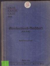 H.Dv. 131 Standortdienst-Vorschrift 1939