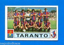 [GCG] CALCIATORI 1975-76 Panini Figurina-Sticker n. 546 - TARANTO SQUADRA -New
