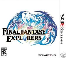 Final Fantasy Explorers - Nintendo 3DS | USA Version - SEALED | FREE SHIPPING