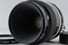 Nikon Micro Nikkor Ai-s 55mm F2.8 F/2.8 AIS Lens F Mount MF【Exc+】From Japan #162