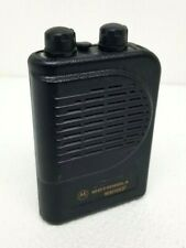 Motorola Minitor Iii Vhf 2 Channel Pager Fire Dept/Ems