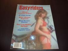 Easyriders Feb 1981 Bikini Women, Four Leg -Wettin Harleys  ID:41565