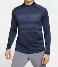 Nike 1/4-Zip Dri-FIT Vapor Golf Top Navy Blue BV0390-451 $110 Men's Size S M L