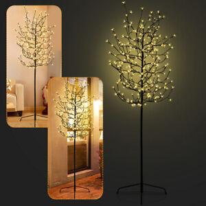 180cm LED Lichterbaum Warmweiß Kirschblütenbaum Kirschblüten 200 LEDs