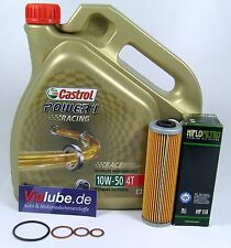 KTM 990 SMR lc8 manutenzione pacchetto CASTROL POWER 1 RACING 10w-50 4l+ filtro olio
