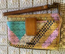 Fossil Women Wallet Wristlet Zip Around Phone Pocket