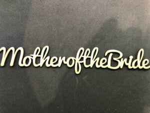 Mdf Laser cut Place Names Wedding Hen personalised  2 for 1 BOGOF