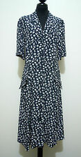 LES COPAINS Abito Vestito Donna Viscosa Rayon Woman Dress Sz.M - 44