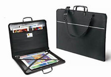 Mapac Quartz Zipped Portfolio Case - No Rings - A2