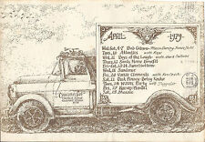 Concert Flyer, 1979 Post Mark! Charotte's Wed - Many Artist of the time!