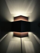 Brown Plug-In Wall Lamp,Wall Light Sconce