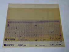 Microfich Ersatzteilkatalog Peugeot J 5 Stand 02/1996