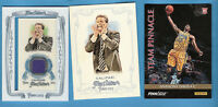 JOHN CALIPARI WORN RELIC & ALLEN & GINTER CARD + ANTHONY DAVIS ROOKIE RC CARD UK