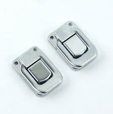 2X Drawbolt Closure Latch for Guitar Case /musical cases Chrome 6443A