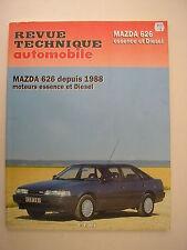 revue technique automobile  RTA E.T.A.I  MAZDA 626  essence et diesel