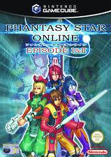 Nintendo GameCube Spiel - Phantasy Star Online: Episode 1 + 2 (mit OVP)(PAL) GC